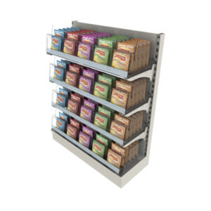 4 Tier Adjustable Snack Bay