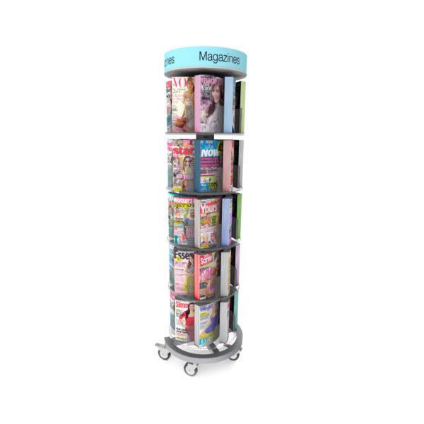 Mag Spinner Magazine Rack