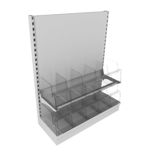 2 Tier Adjustable Snack Bays