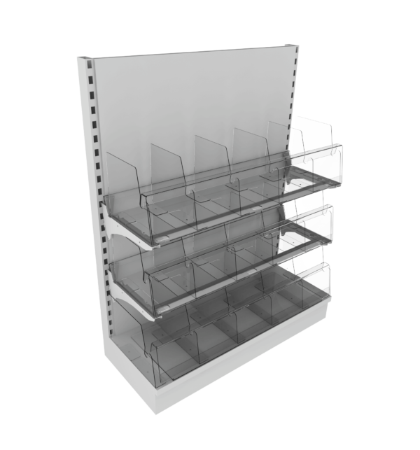 3 Tier Adjustable Snack Bays