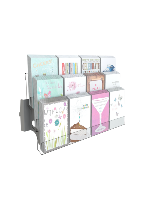 3 Tier Greetings Card Shelving