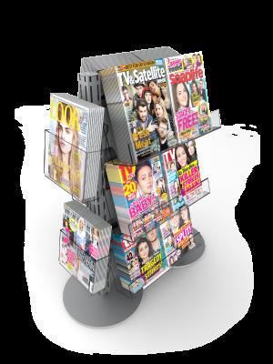 Micro Magazines Rack
