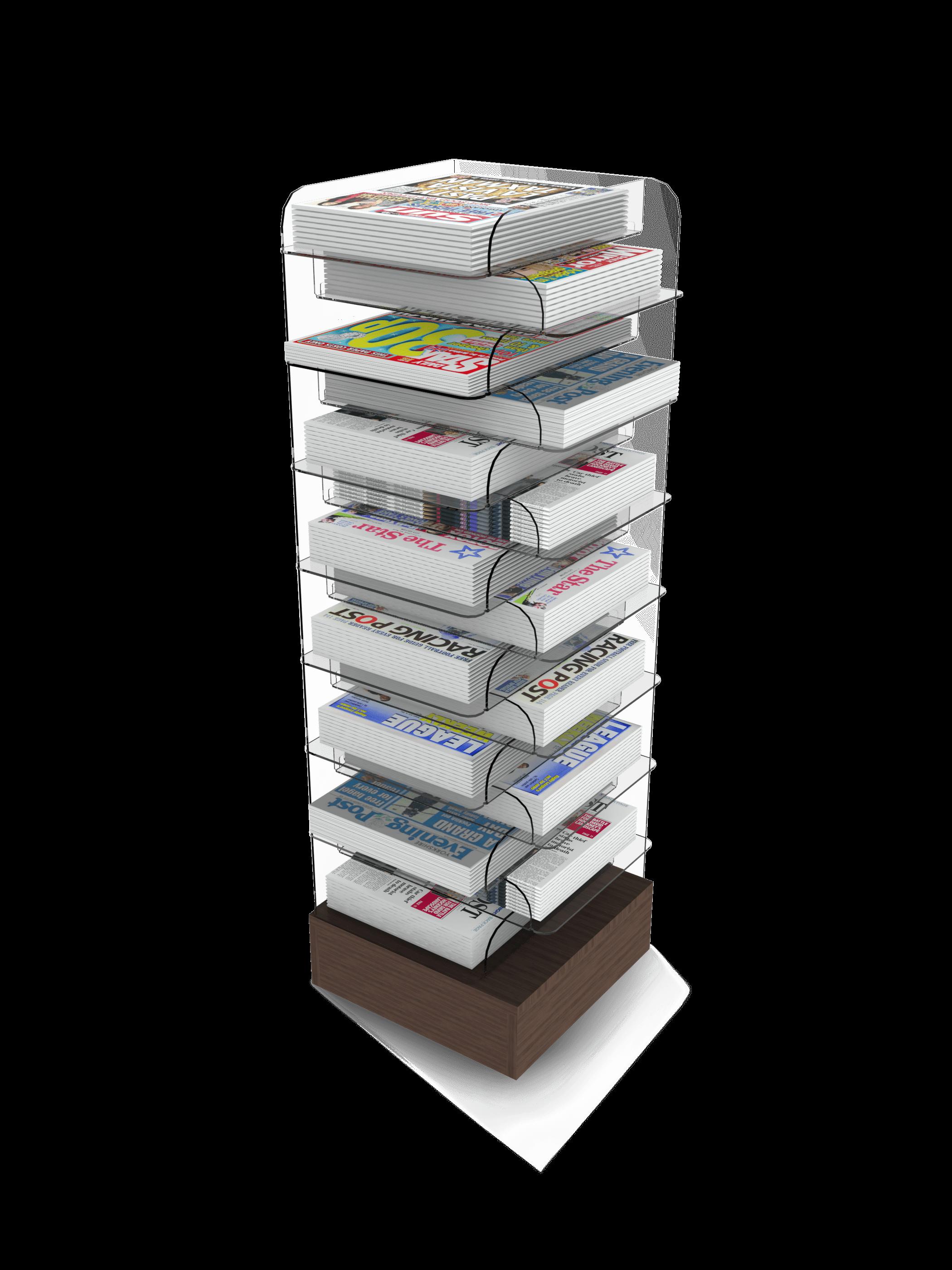 Corner News Tower