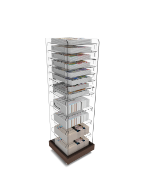 Multi Volume News Tower