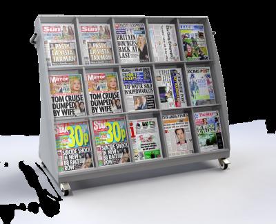 Slimline Outside News 15 Titles Facing