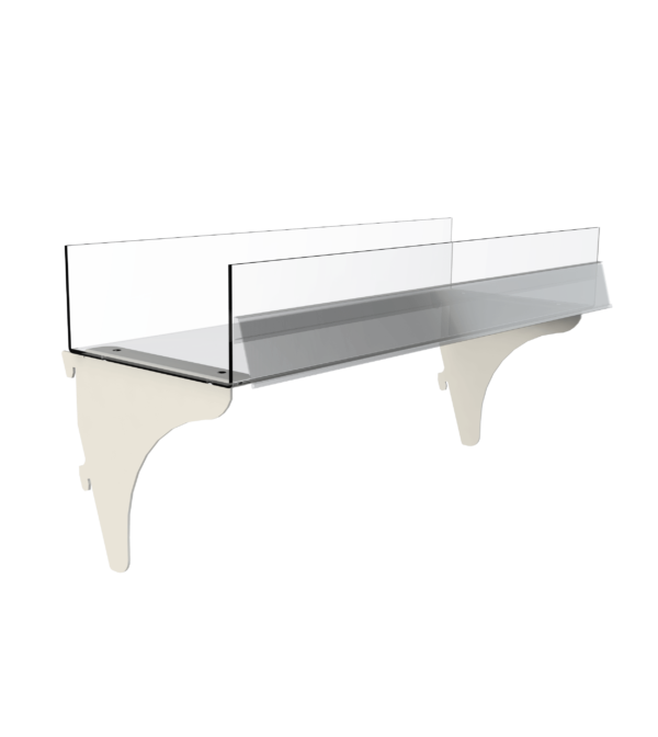 Gondola Side Display Adjustable Shelf