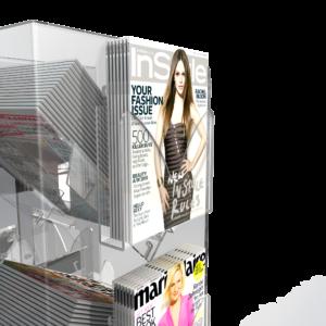 Cube / Tower Magazine Pocket