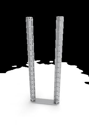 Queue Management System Corner Upright
