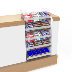 Inset Counter Front Confectionery