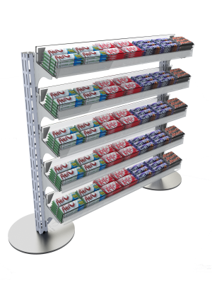 Queue Management System Confectionery Shelving