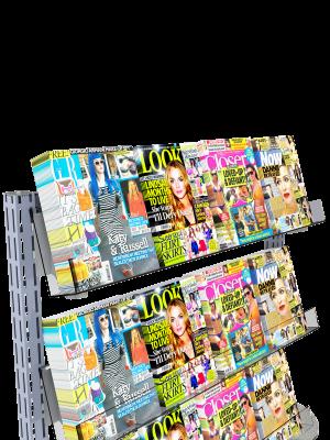 Queue Management System Magazine Shelf