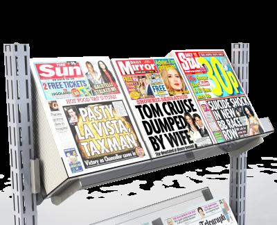 Queue Management System Newspaper Shelf