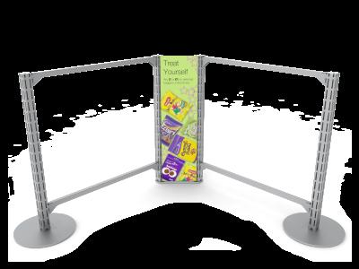 Queue Management System Corner Graphics