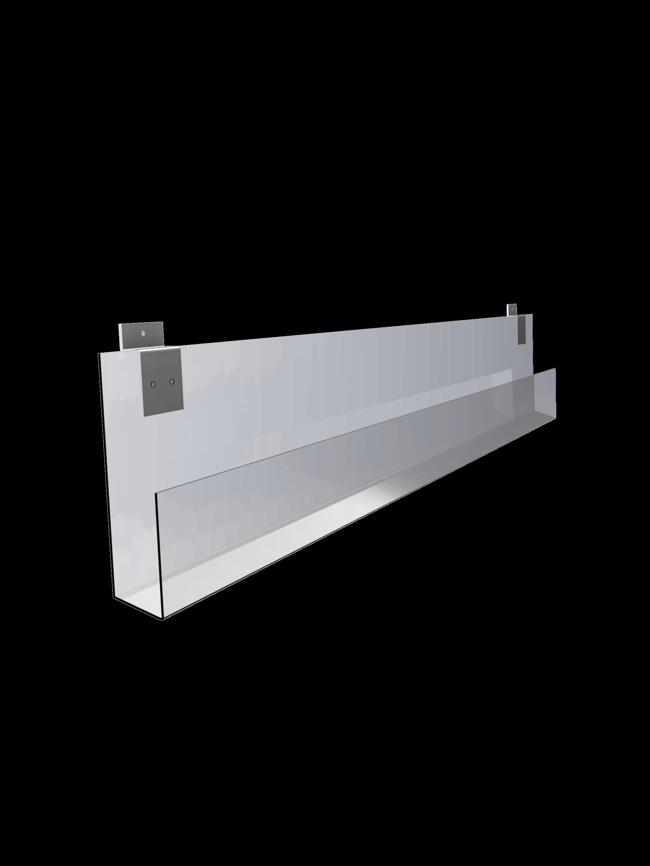 Slatwall Card Shelf