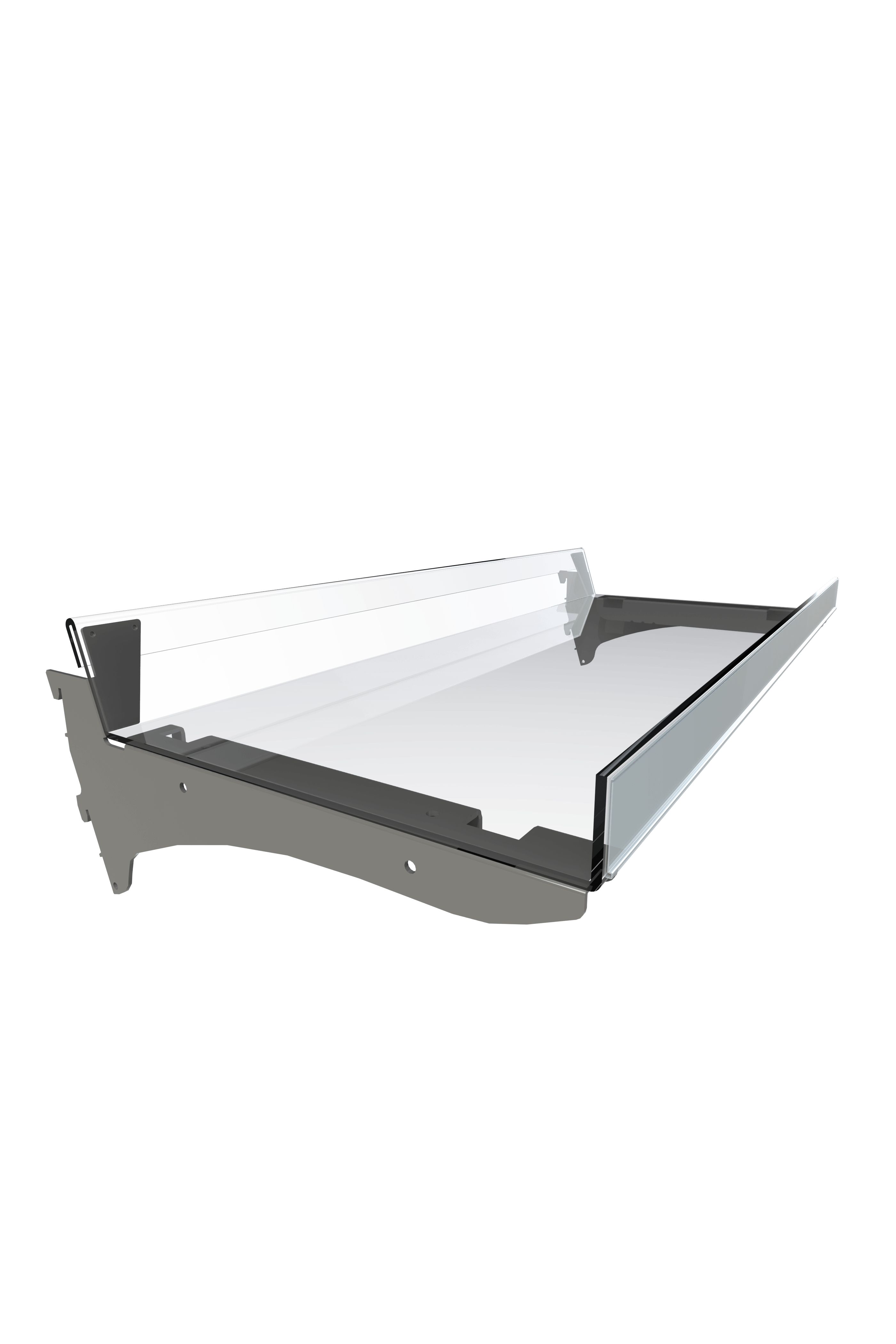 Confectionery Flangle Shelves 250mm