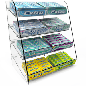 Freestanding Confectionery Displays