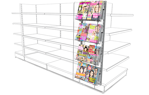 Retail Gondola Side Display