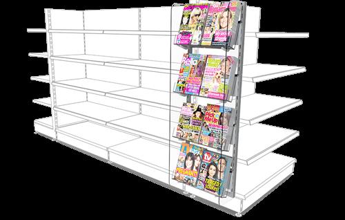 Retail Gondola Side Display