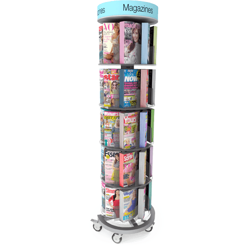 Freestanding Magazine Displays