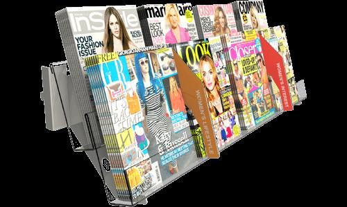 Individual Magazine Shelving