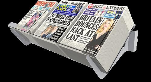 Newspaper Displays & Shelving