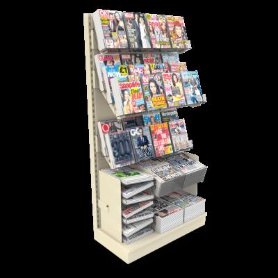 Flexi-News 3QTR Mag Wall Bay