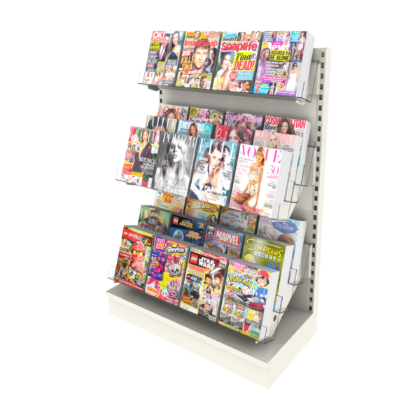 7 Tiers MagMax Comic Bay