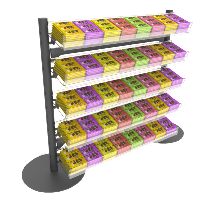Q+4 Confectionery Shelving