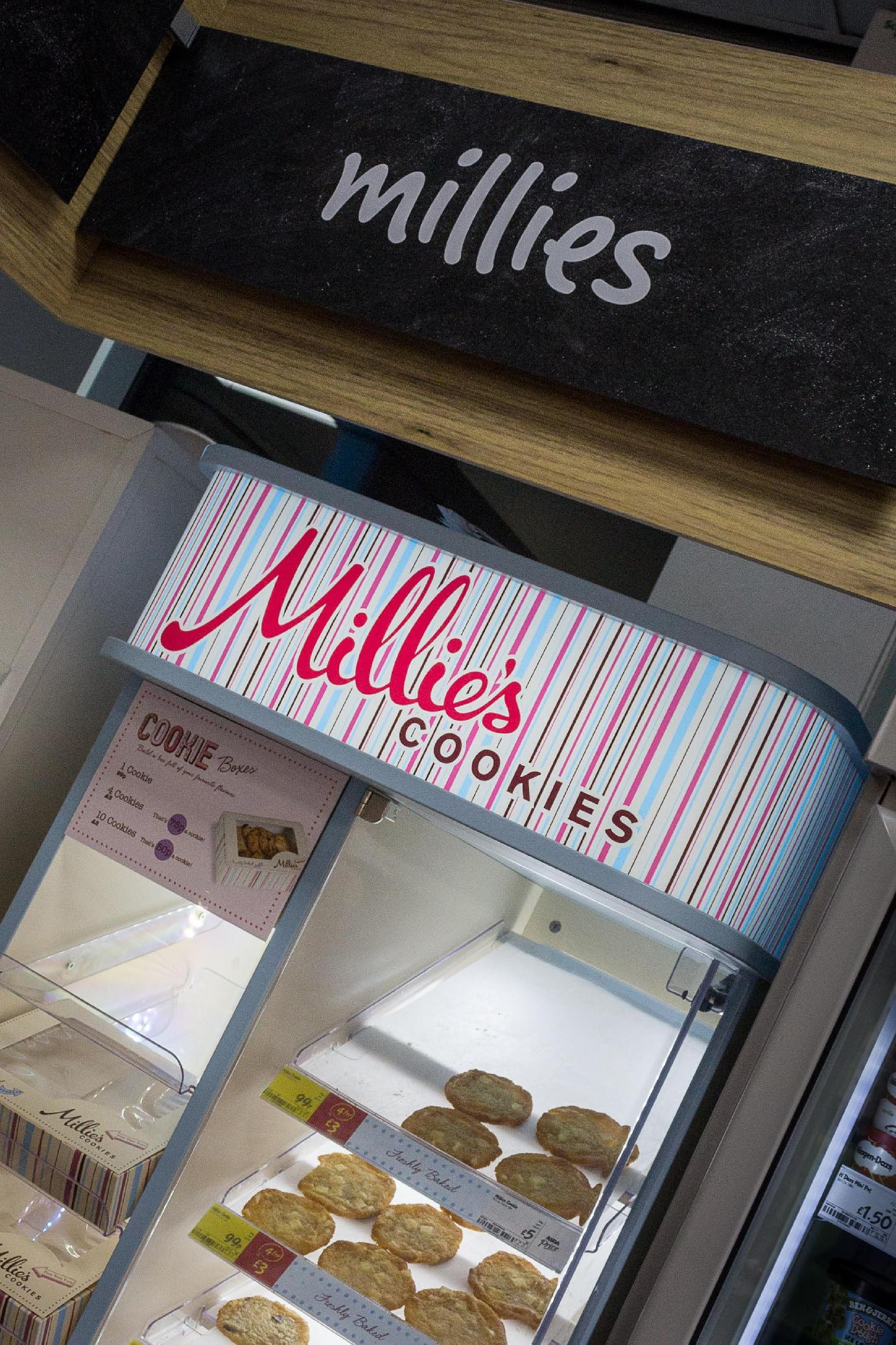 millies cookies bespoke design