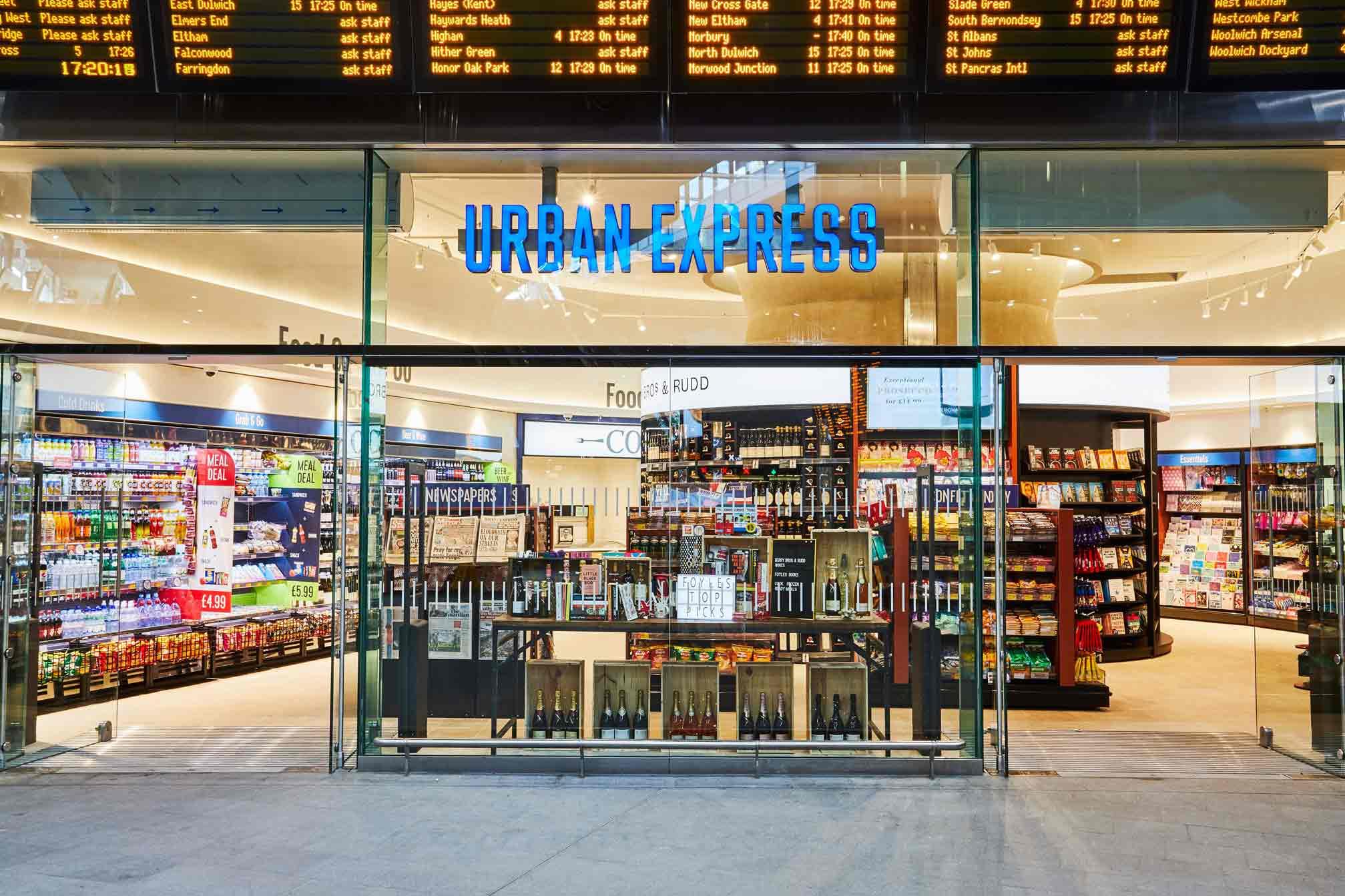 urban express store design